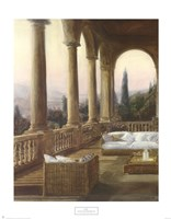 Arched Tuscan Remembrances Fine Art Print