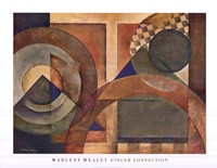 "Ginger Connection by Marlene Healey - 34"" x 26"" - $22.49"