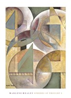 "Spheres of Thought I by Marlene Healey - 26"" x 36"", FulcrumGallery.com brand"