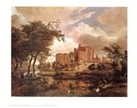 Ruins of Brederode Castle Fine Art Print