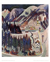 Sertig Valley Fine Art Print