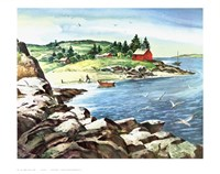 Inland Cove Fine Art Print