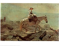 The Bridle Path White Mountains Fine Art Print