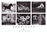 "Americana by James O'Mara - 40"" x 28"""
