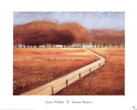"Autumn Memory by Lynn Welker - 20"" x 16"", FulcrumGallery.com brand"
