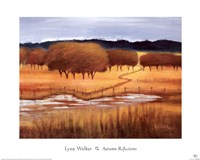 "Autumn Reflections by Lynn Welker - 20"" x 16"", FulcrumGallery.com brand"
