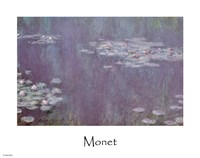 Nympheas B by Claude Monet - various sizes