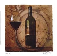 Wine III Framed Print