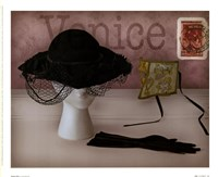 "Venice Hat by Judy Mandolf - 11"" x 9"""