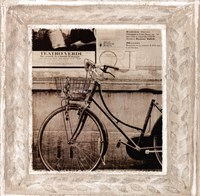 Bicycle In Florence Fine Art Print