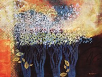 "My Grandmother's Orchard by Valerie Willson - 36"" x 27"""