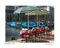 Waterfront Cafe Fine Art Print