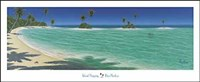 "Island Hopping by Dan Mackin - 58"" x 24"""