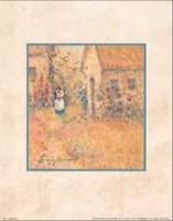 "Garden Stroll by Lanny Barnard - 11"" x 14"""
