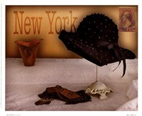 New York Hat Fine Art Print
