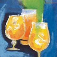 Frosty Orange Cocktails Fine Art Print