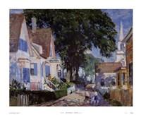 A Street In Provincetown Fine Art Print