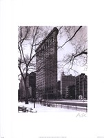 "Flat Iron Building by Christopher Bliss - 12"" x 16"" - $12.99"