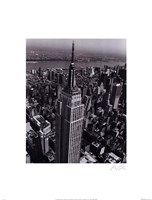 """Empire State Building by Christopher Bliss - 12"""" x 16"""", FulcrumGallery.com brand"""