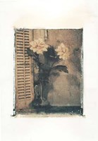 Polaroid Vases Flower Fine Art Print