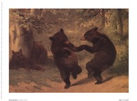 Dancing Bears Fine Art Print