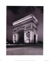 "Arc de Triomphe by Christopher Bliss - 8"" x 10"""