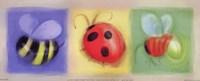 3 Bug Panel Fine Art Print