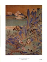"""Travellers In The Mountains Of Shu by John Singer Sargent - 17"""" x 22"""" - $11.99"""