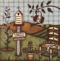 Ladybug Cottage Fine Art Print