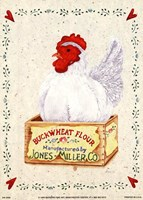 Jones Miller Rooster Fine Art Print