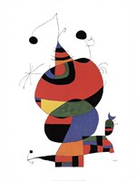 Hommage a Picasso Fine Art Print