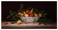 "Fruit And Silver by Patrick Farrell - 25"" x 13"""