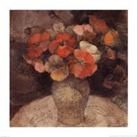 """Vase of Poppies by Albena Hristova - 14"""" x 14"""""""