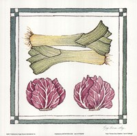Leak Cabbage Fine Art Print