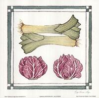 Leak Cabbage Fine Art Print