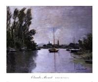 Argenteuil (single boat) Fine Art Print
