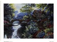 "Garden Inspiration by D. King - 8"" x 6"", FulcrumGallery.com brand"