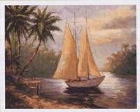 "Setting Sail II by Enrique Bolo - 30"" x 24"""