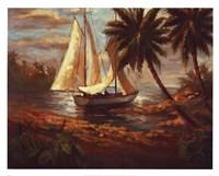 "Setting Sail I by Enrique Bolo - 30"" x 24"""