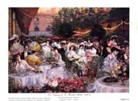 Le Diner A' L'Hotel Ritz Fine Art Print