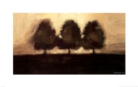 Row of Trees I Fine Art Print