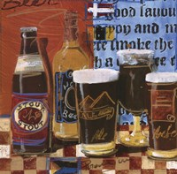 Beer and Ale I Framed Print
