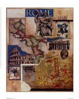 Rome Collage Fine Art Print