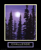 Challenge-Moonrise Fine Art Print