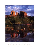 "Cathedral Rock by Richard Price - 22"" x 28"", FulcrumGallery.com brand"