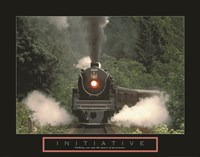 Initiative - Train Fine Art Print