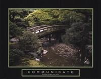 "Communicate - Bridge by Mali Nave - 28"" x 22"", FulcrumGallery.com brand"