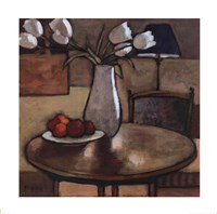"""Still Life with Tulips by Fara Bell - 24"""" x 24"""""""