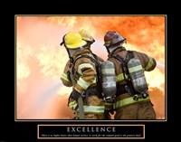 Excellence - Three Firemen Fine Art Print