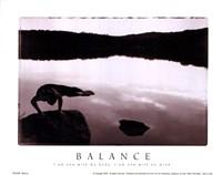 Balance-Yoga Fine Art Print